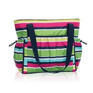 Thirty-One New Day Tote- Preppy Pop